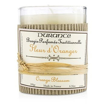 Durance Perfumed Handcraft Orange Flower Candle