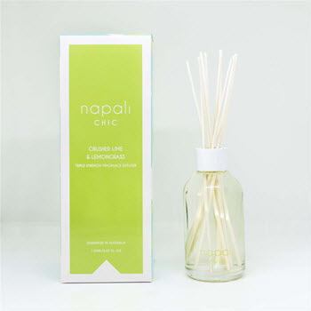 Napali Chic Crushed Lime & Lemongrass Reed Diffuser