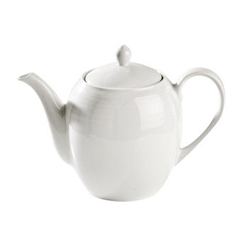 Noritake Arctic White Tea Pot