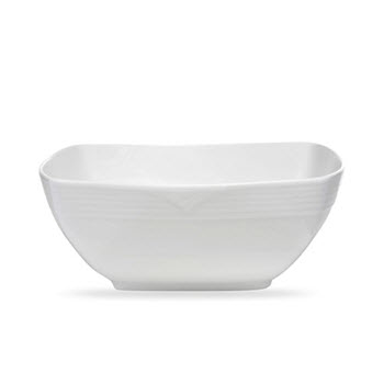 Noritake Arctic White Square Salad Bowl