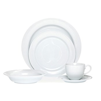 Noritake Arctic White Dinner Set 20 Piece