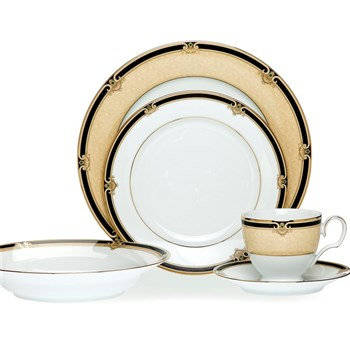 Noritake Braidwood 20 Piece Dinner Set