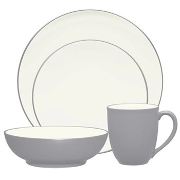 Noritake Colourwave 16 Piece Dinner Set Slate