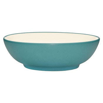 Noritake Colourwave 30.5cm Serving Bowl Turquoise
