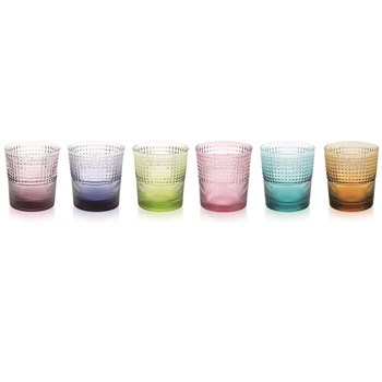 IVV by Noritake Speedy Coloured Tumbler Set of 6