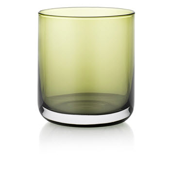 IVV by Noritake Lounge Bar Green Water Glass Set of 6