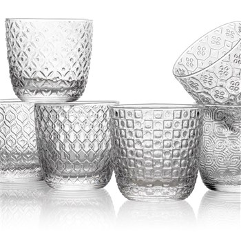 IVV by Noritake Sixties Clear Tumbler Set of 6