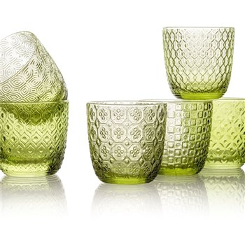 IVV by Noritake Sixties Green Tumbler Set of 6