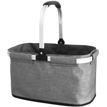 IconChef Aluminium & Polyester Easy Hampers Bag 44 x 26 x 24cm Grey