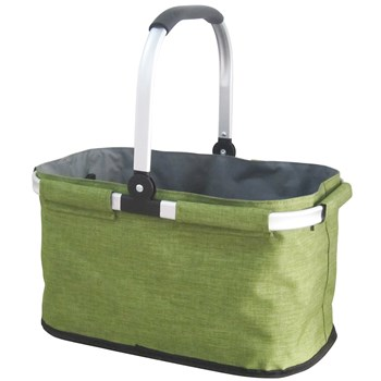 IconChef Aluminium & Polyester Easy Hampers Bag 44 x 26 x 24cm Green