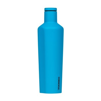 Corkcicle Stainless Steel Canteen 740ml Neon Blue