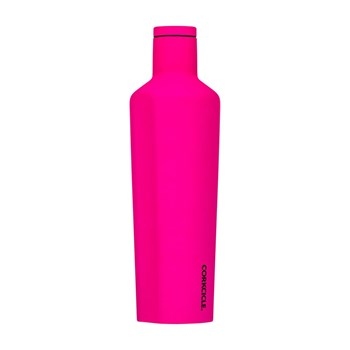 Corkcicle Stainless Steel Canteen 740ml Neon Pink