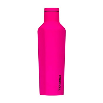 Corkcicle Stainless Steel Canteen 473ml Neon Pink
