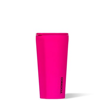 Corkcicle Stainless Steel Tumbler 473ml Neon Pink