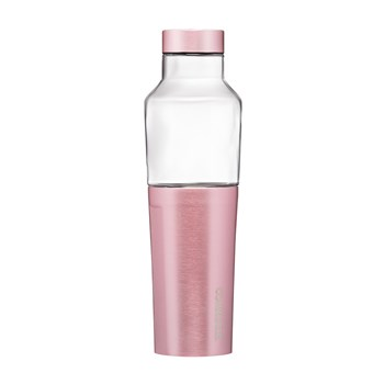 Corkcicle Hybrid Stainless Steel & Glass Canteen 591ml Rose Pink