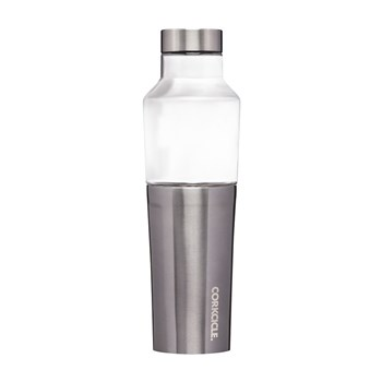 Corkcicle Hybrid Stainless Steel & Glass Canteen 591ml Gunmetal Grey