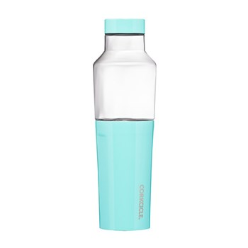 Corkcicle Hybrid Stainless Steel & Glass Canteen 591ml Turquoise Blue