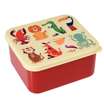 Rex London Lunch Box Colourful Creature