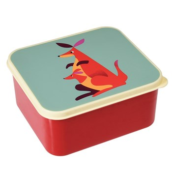 Rex Back To School Kangaroo Lunch Box 13.5 x 15 x 7cm