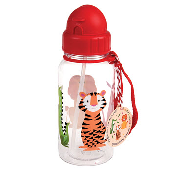 Rex London Water Bottle Colourful Creatures