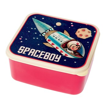 Rex Back To School Spaceboy Lunch Box 13.5 x 15 x 7cm