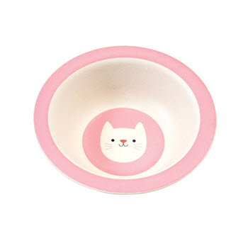 Rex London Bamboo Bowl Cookie The Cat