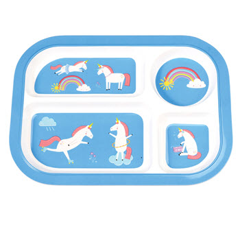 Rex Divided Tray - Unicorn