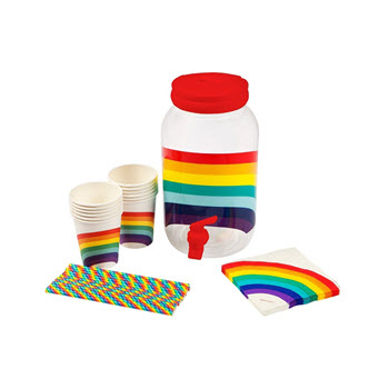 Sunnylife Drink Dispenser Kit Rainbow