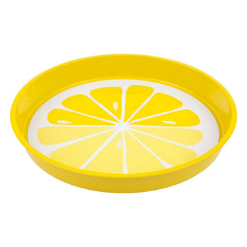Sunnylife Drinks Tray Lemon 33cm