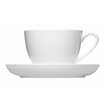Alex Liddy Aquis 220ml Coupe Teacup & Saucer
