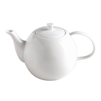 Alex Liddy Aquis Fine Bone China 1.2 Litre Teapot