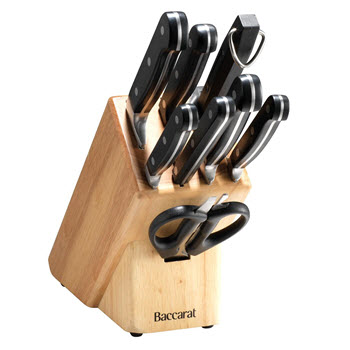 Baccarat Sabre 9 Piece Knife Block