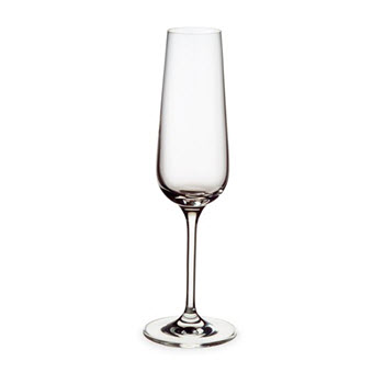 Alex Liddy Vina 180ml Flute Wine Glass - Set of 6
