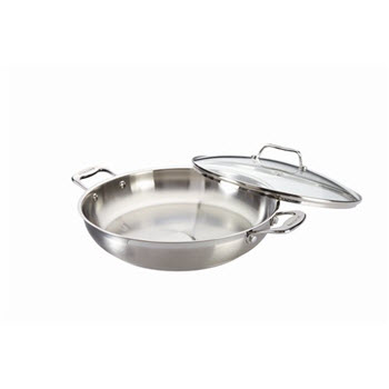 Baccarat iconiX Chefs Pan with Lid 32cm