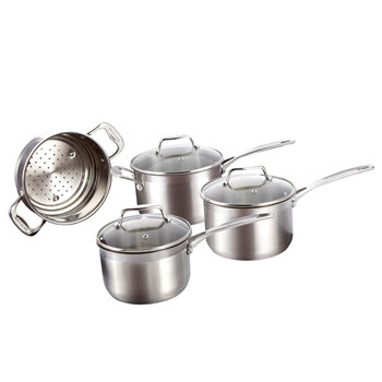 Baccarat iconiX 4 Piece Cookset