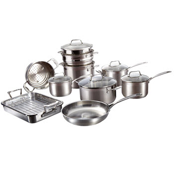 Baccarat iconiX 10 Piece Cookset