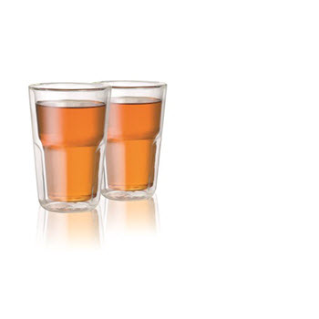 Baccarat Facet 12 oz/345ml Medium Double Wall Glass - Set of 2