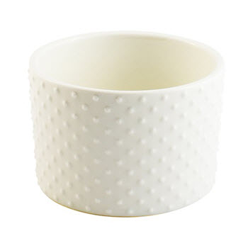 Alex Liddy Bianco Ramekin Small Dots 10 x 7cm