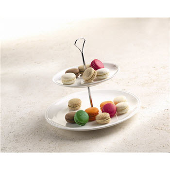 Alex Liddy Linea 2 Tier Cake Stand