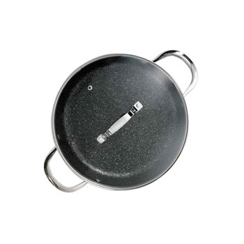 Baccarat Rock 28cm Saute Pan with Lid
