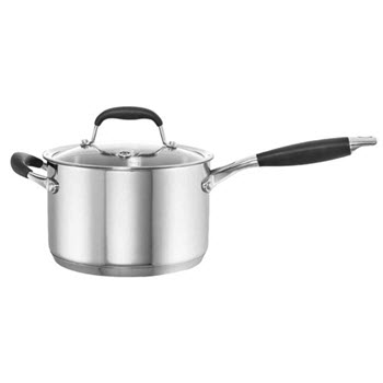 Baccarat Capri + 3.6L/20cm Stainless Steel Saucepan with Lid