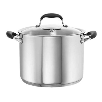 Baccarat Capri + 8.2L/24cm Stainless Steel Stockpot with Lid