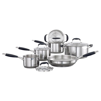 Baccarat Capri + Stainless Steel Cookset 6 Piece