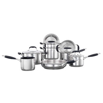 Baccarat Capri + Stainless Steel Cookset 9 Piece