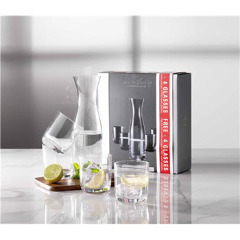 Alex Liddy Vina 1L Carafe with 4 Tumblers