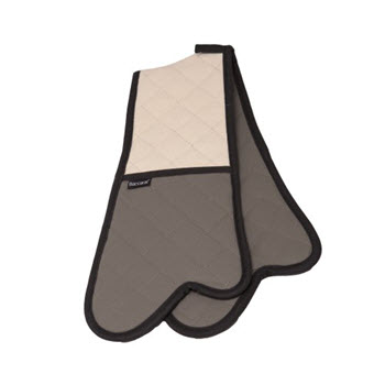 Baccarat Flame 87cm Double Oven Glove with Flame Retardant Coating