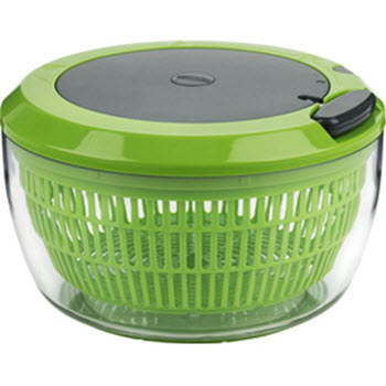 Trudeau Stress Less Salad Spinner 3 in 1