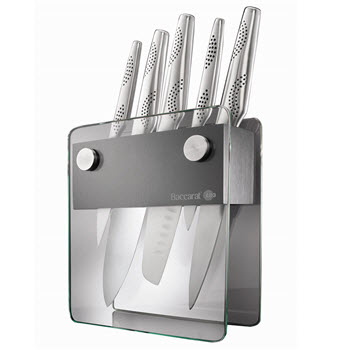Baccarat iD3 Shin Knife Block 6 Piece