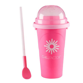 Chill Factor Tutti Fruity Slushy Drink Maker Pink