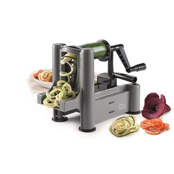 Baccarat Pete Evans Healthy Everyday Spiraliser Black